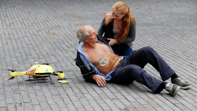 dron ambulancia.Tecnologgia