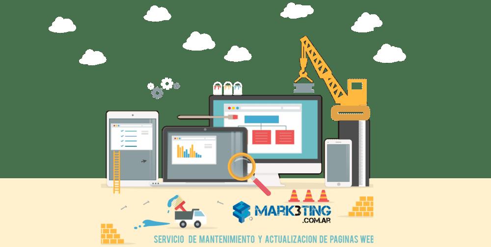 555b2ca39744 Servicio de mantenimiento y actualización de páginas web – MARK3TING ...